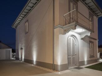 as | villa