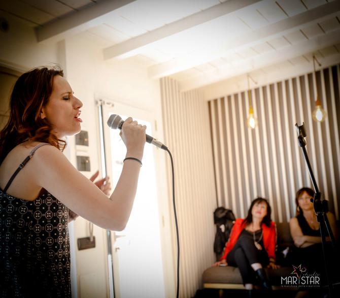 Studio Marystar ascolto live per partecipare al 21° festival Voci d'Oro