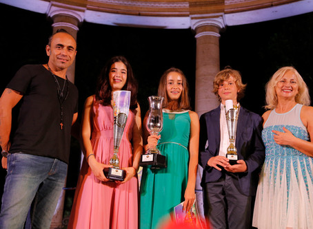 Ecco i primi tre Junior del 22° Festival Voci d'Oro 2019.