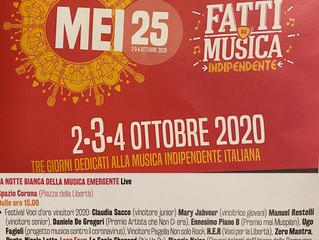 Successo al MEI di Faenza con i vincitori del Festival Voci d'oro 2020
