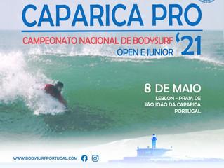 Começa dia 8 de maio às 08h30 o Caparica Pro