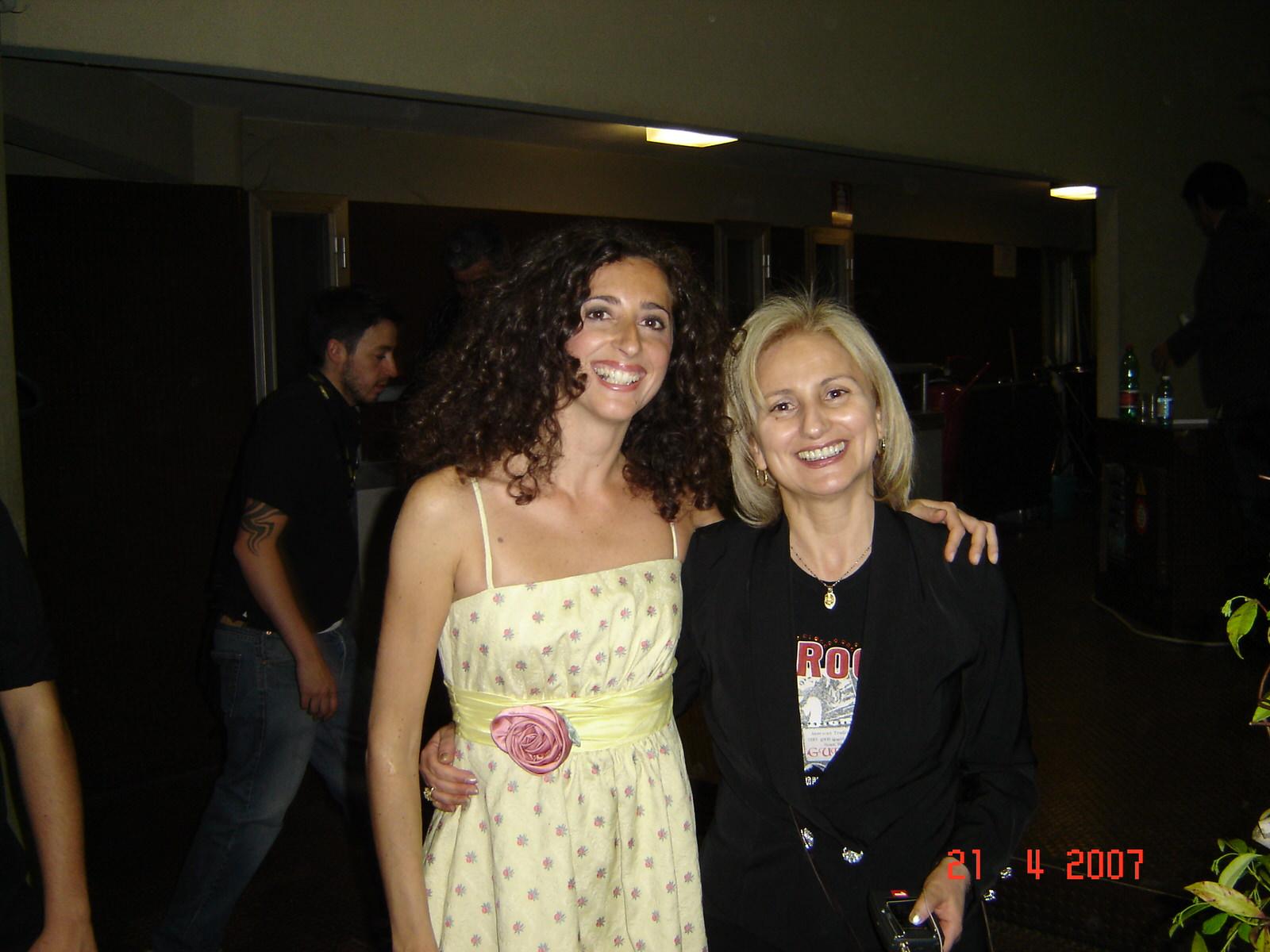 Mannino con Maria Angela