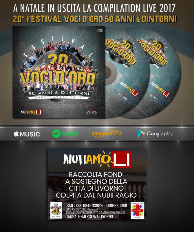 Il CD Compilation 2017 Voci d'Oro in produzione in uscita a Natale