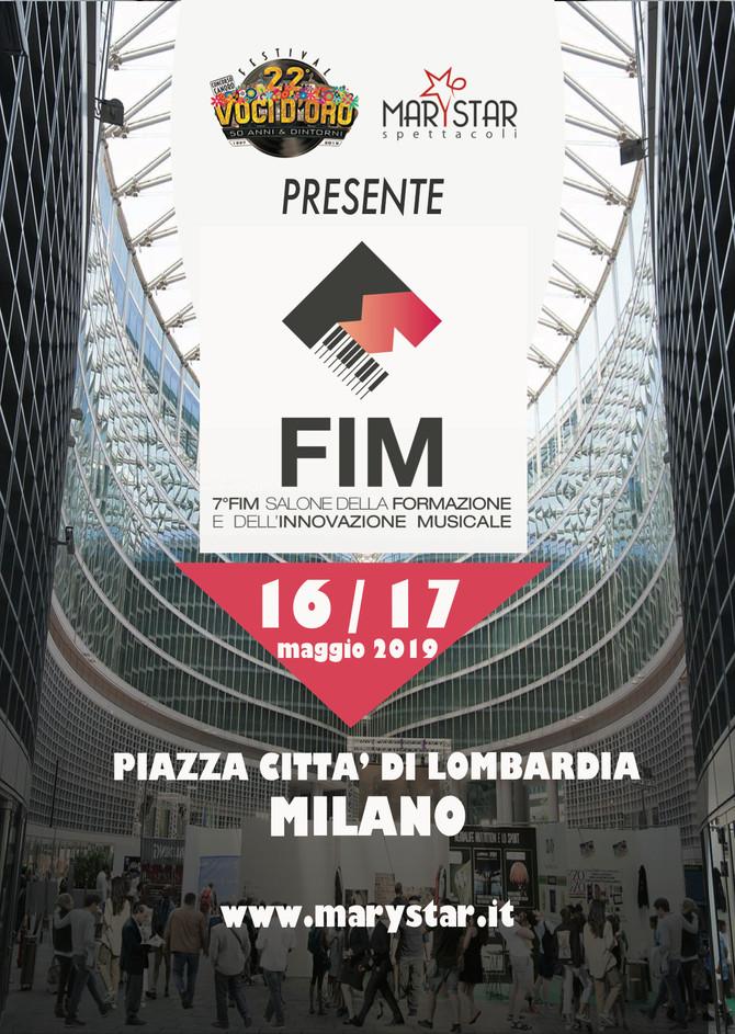 Marystar sarà presente al FIM di Milano il 16-17 maggio 2019