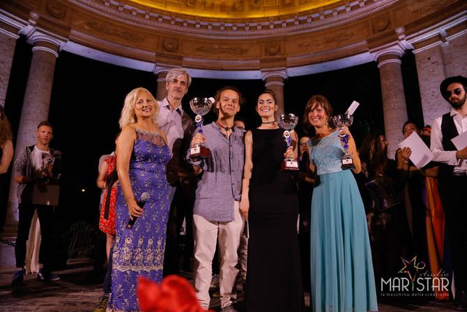 I primi tre giovani interpreti del 22° Festival voci d'Oro 2019
