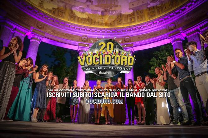 L'unione fa la forza...e il canto diventa immenso ! Partecipa al 20° festival voci d'Oro &qu