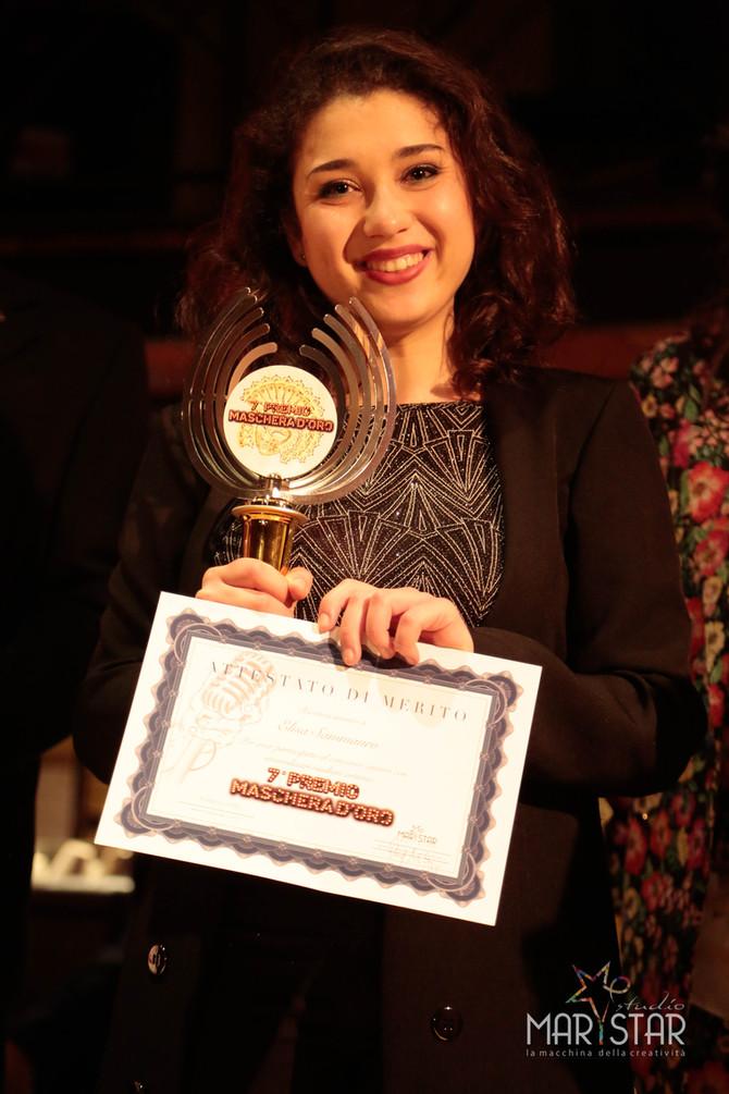 Elisa Sammauro vince il 7° Premio La Maschera d'Oro