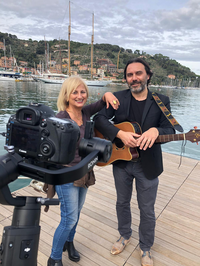 """Ciak! si gira, video clip alle Grazie """"la musica del mare"""""""