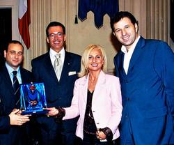 Premiazione Marysta dal comune