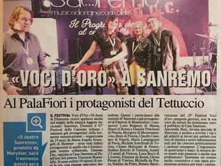 """La Nazione parla del """"Il Nostro Sanremo"""""""