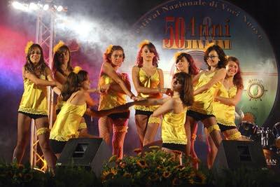 gruppo ballo spettacolo 5 luglio