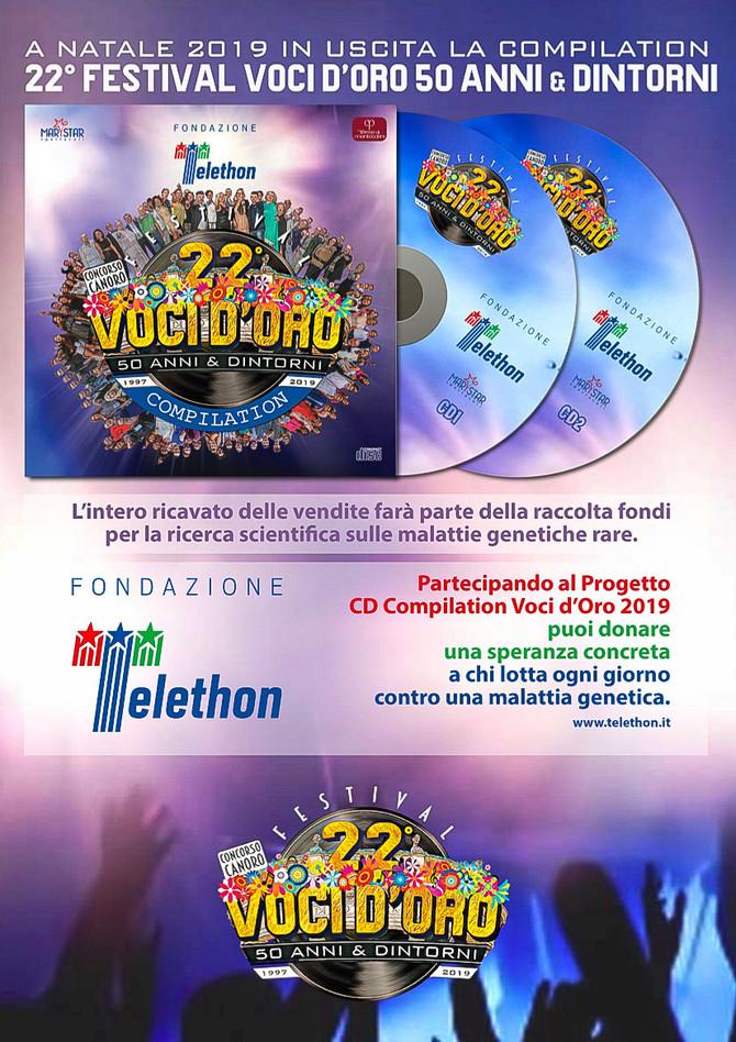 In produzione la Compilation del 22° Festival voci d'Oro 2019