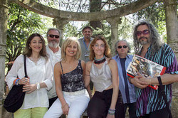 Beppe cantarelli (autore Mina) giovanna Gattuso Los angeles