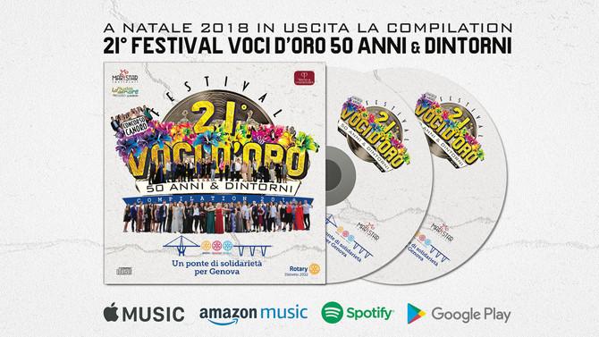 Produzione CD Compilation Voci d'oro 2018
