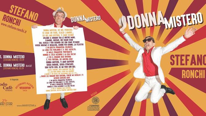 """Uscito il singolo """"Donna Mistero """"Presentazione Festival Voci d'Oro"""""""
