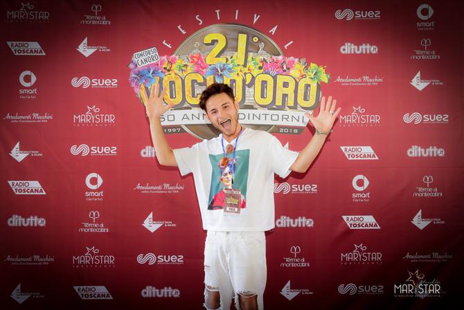 Ecco i primi 20 finalisti giovani del 21° Festival Voci d'Oro 2018