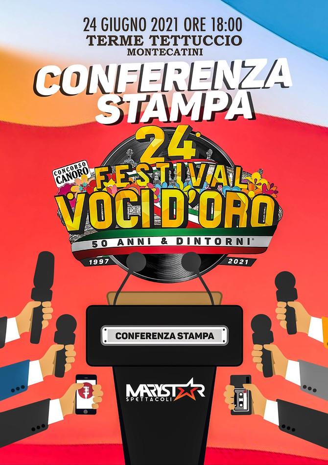 Conferenza Stampa 24° Festival Voci d'Oro