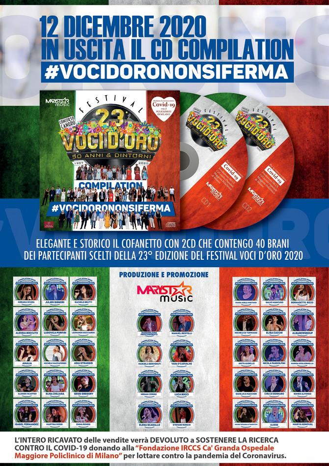 In uscita Cd Compilation #Vocidorononsiferma sono aperte le prenotazioni per i regali di Natale !!