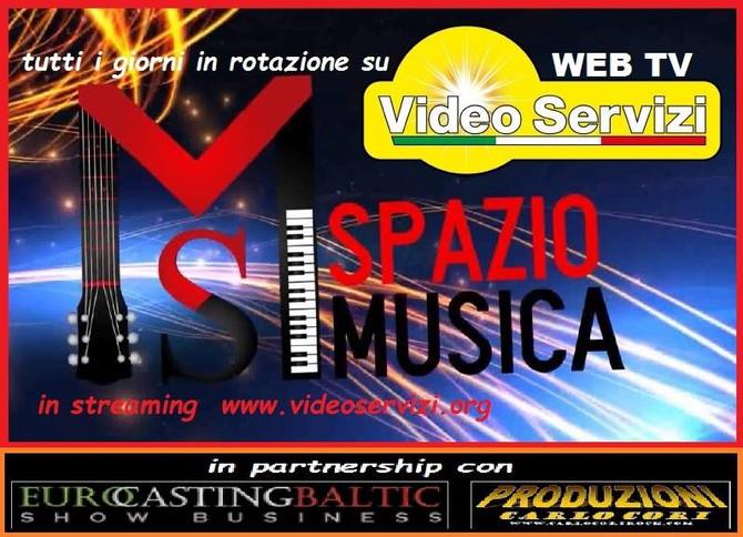 """TV - CD Compilation Voci d'oro 2018 su circuito """"Spazio Musica"""" ecco gli orari."""