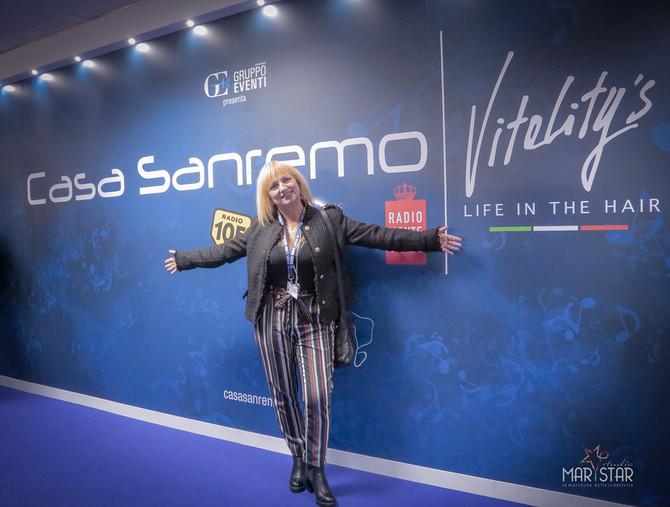 Immagini lavoro a Casa Sanremo durante il 68 Festival di Sanremo.