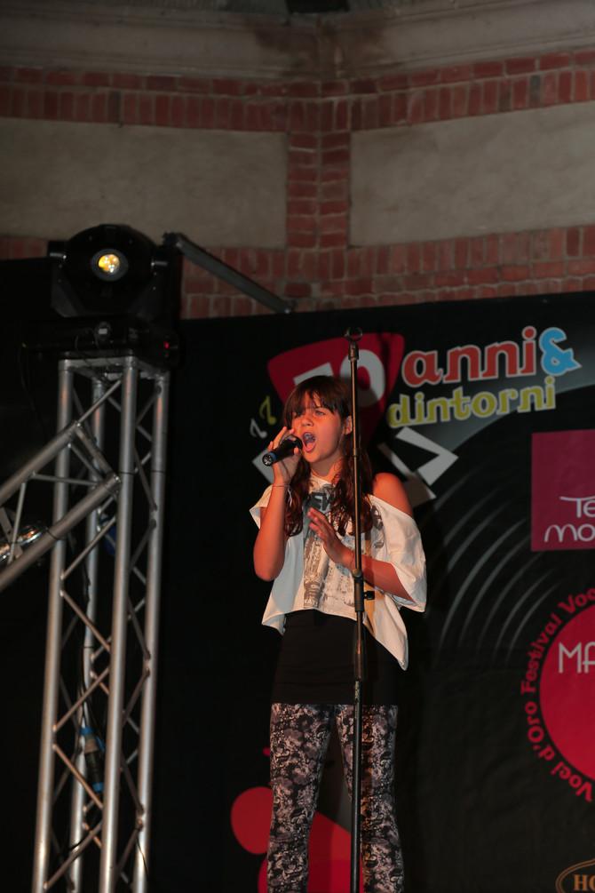 Martina Attili partecipa al Festival Voci d'Oro oggi a XFactor 2018