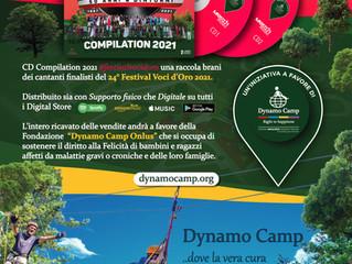 CD Compilation 24° Festival Voci D'Oro 2021