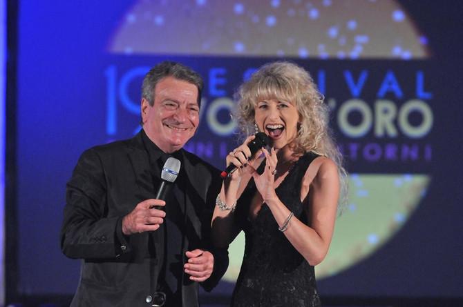 Luciano Nelli e Paola Belloni presenti al 21° Festival Voci d'Oro
