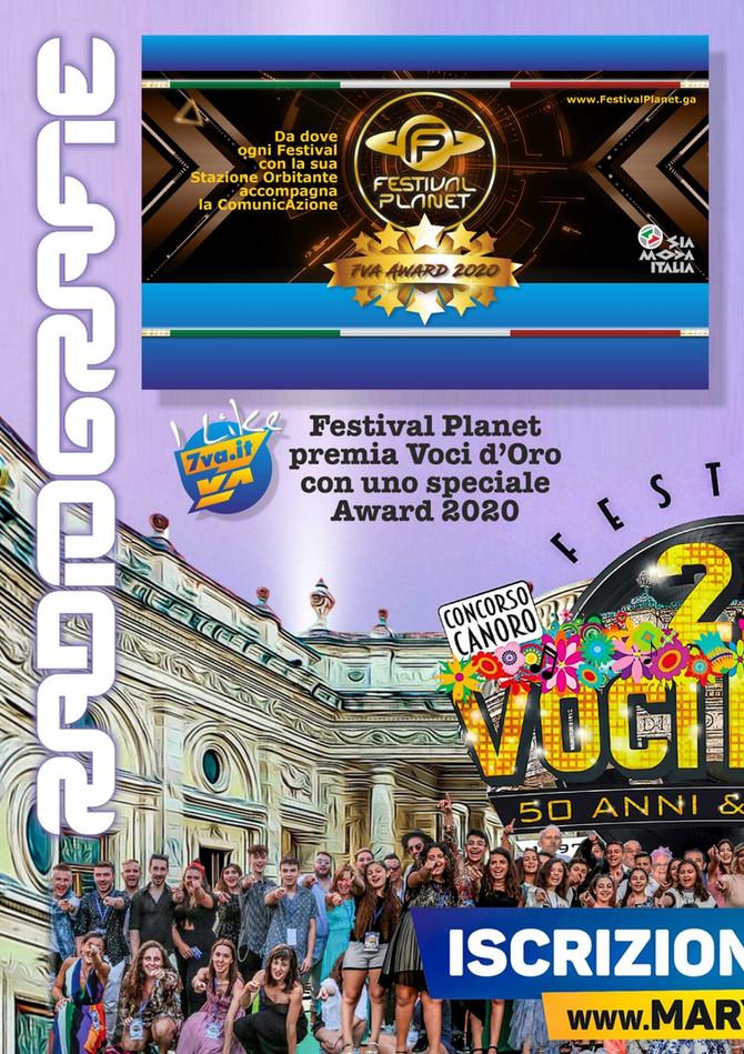 Festival Voci d'Oro 2020 premiato!!