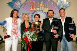 Giuseppe marcucci Senior Luca bragazzi Senior Cantauore e angelo maione Giovane interprete