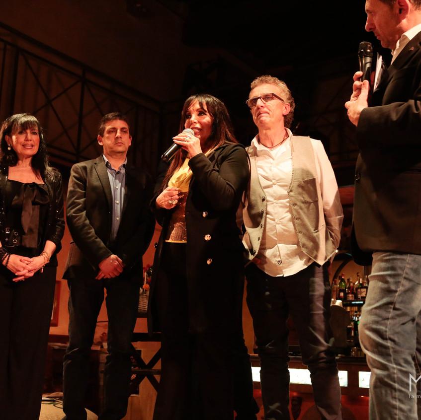 Giuria sul palco