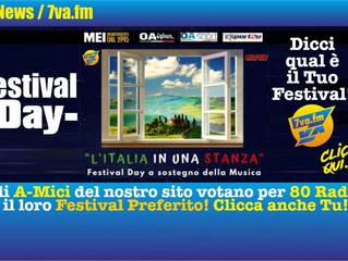 """Il Festival Voci d'Oro al """"Festival Day"""""""