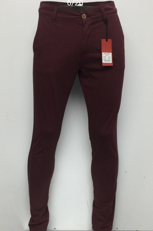 PANTALON CHINO ref: 10436 BORDEAUX