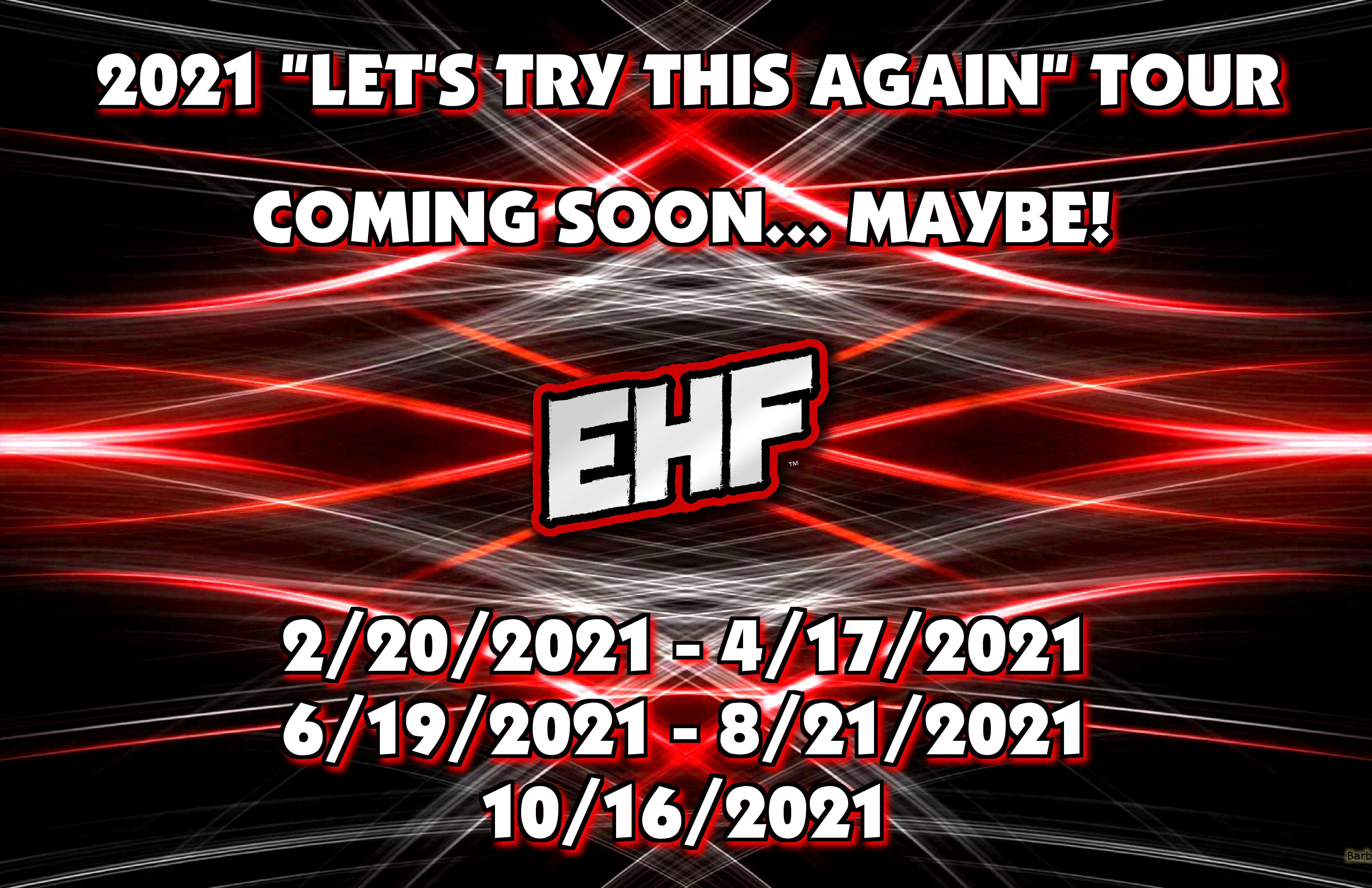 2021 EHF DATES