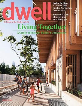 Dwell magazine cover image
