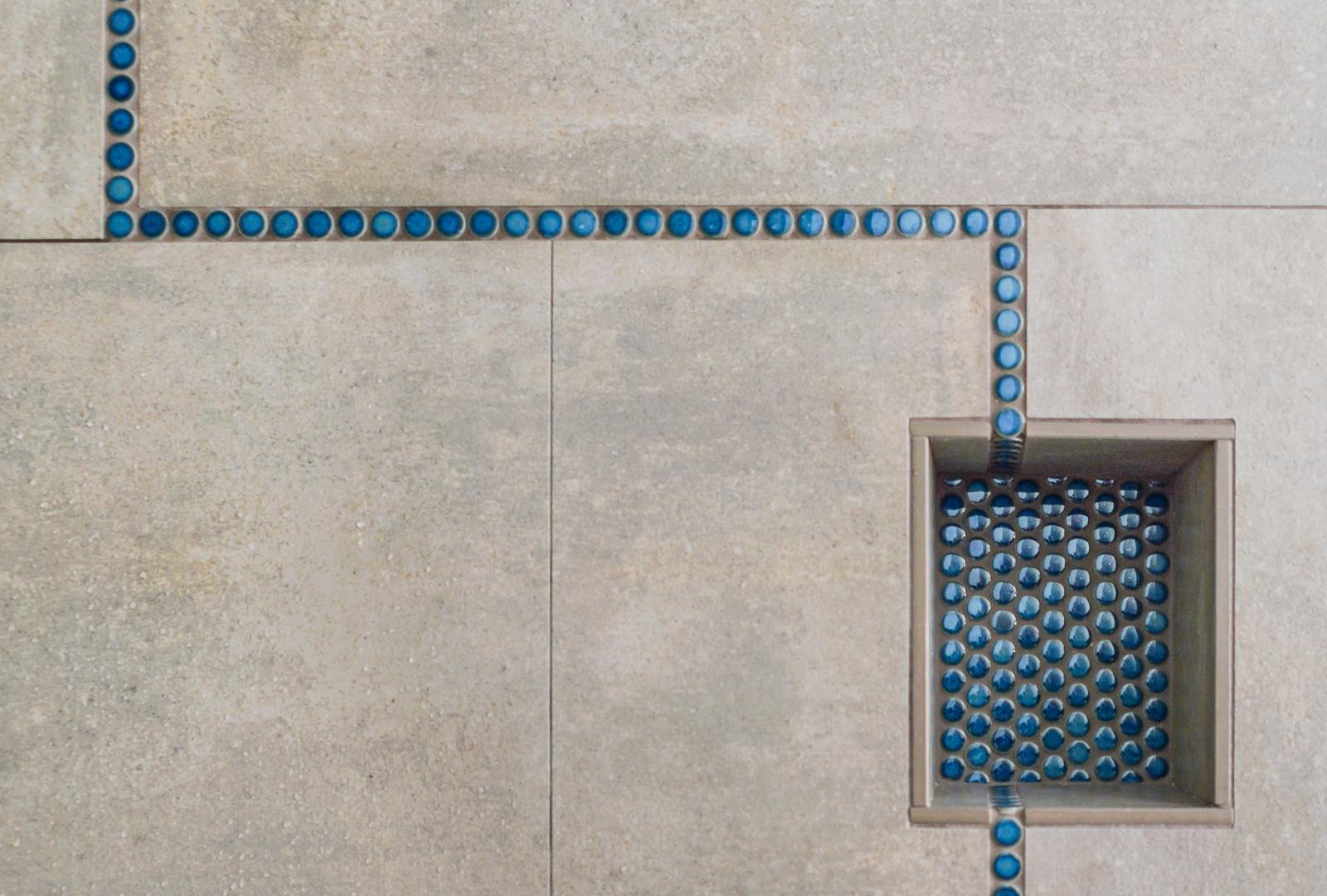 Sculptural Tile Detail