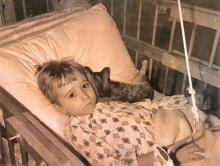 A photo of Erick Mikiten at age 5