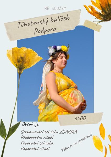 Těhotenský balíček