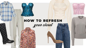 Refresh Your Closet in 5 Steps