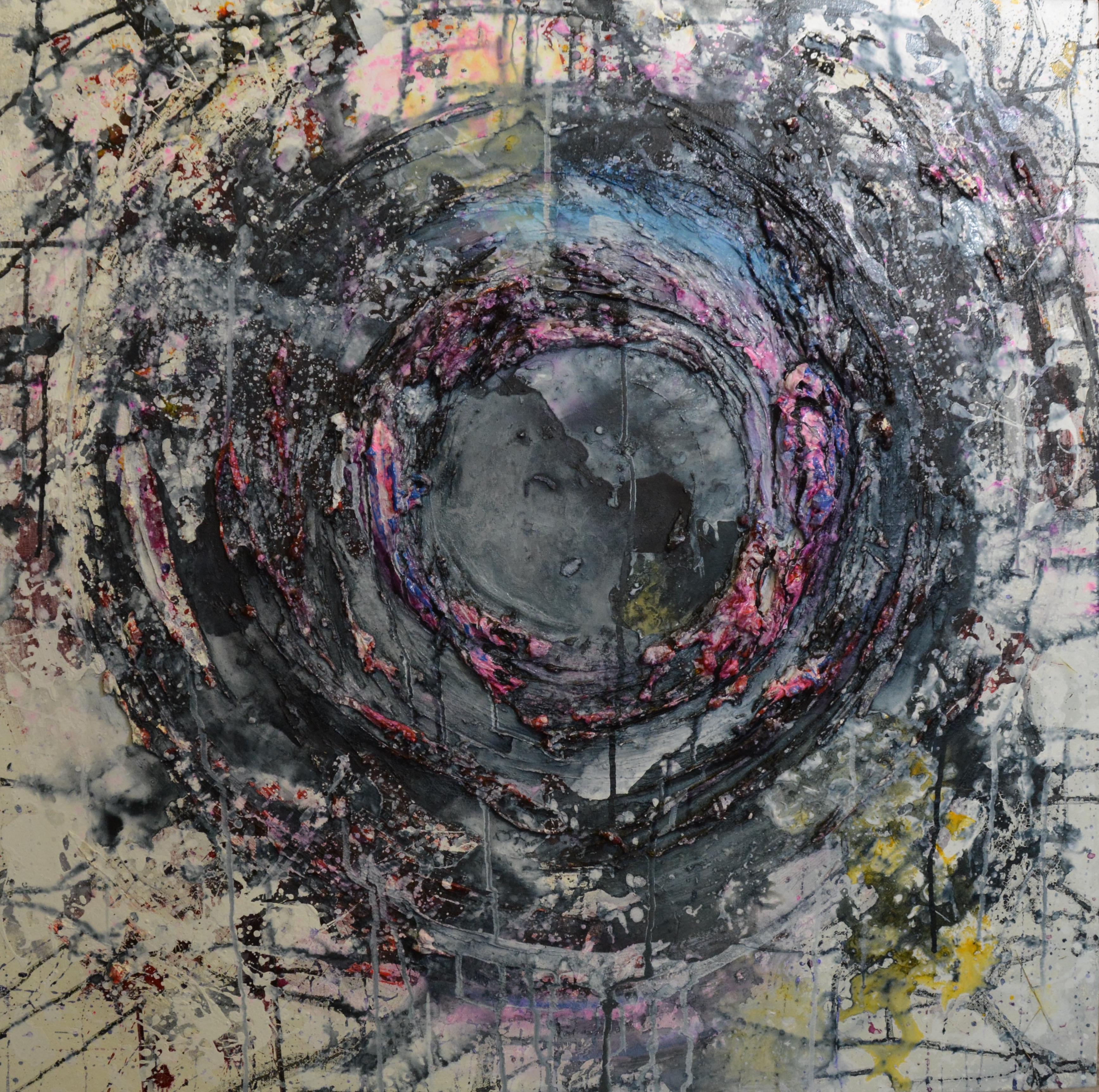 'Void' 20 x 20 inch canvas
