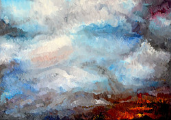 Temper-A1 Oils on Canvas