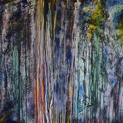'Drag' 30 x 30 inch canvas