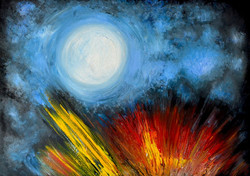 Light in the Night A1 Canvas