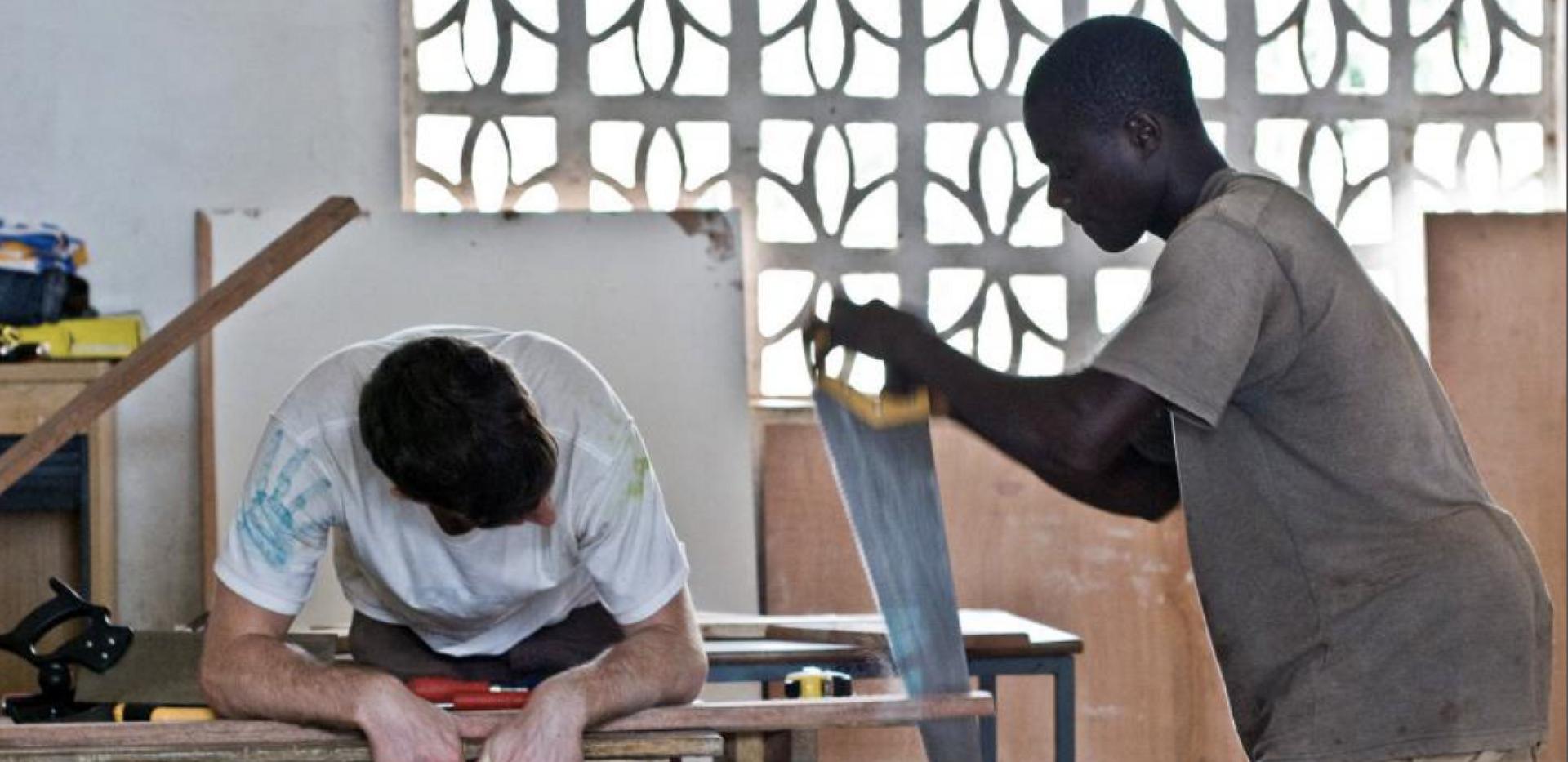 Furniture Workshop, Kaningo, Freetown.pn