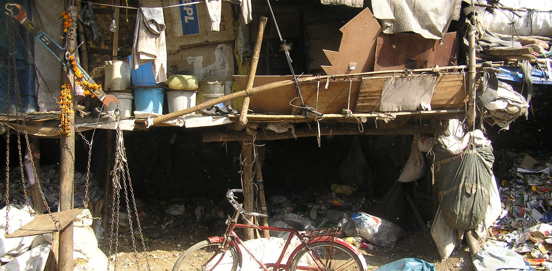Bamboo Wastepicker House
