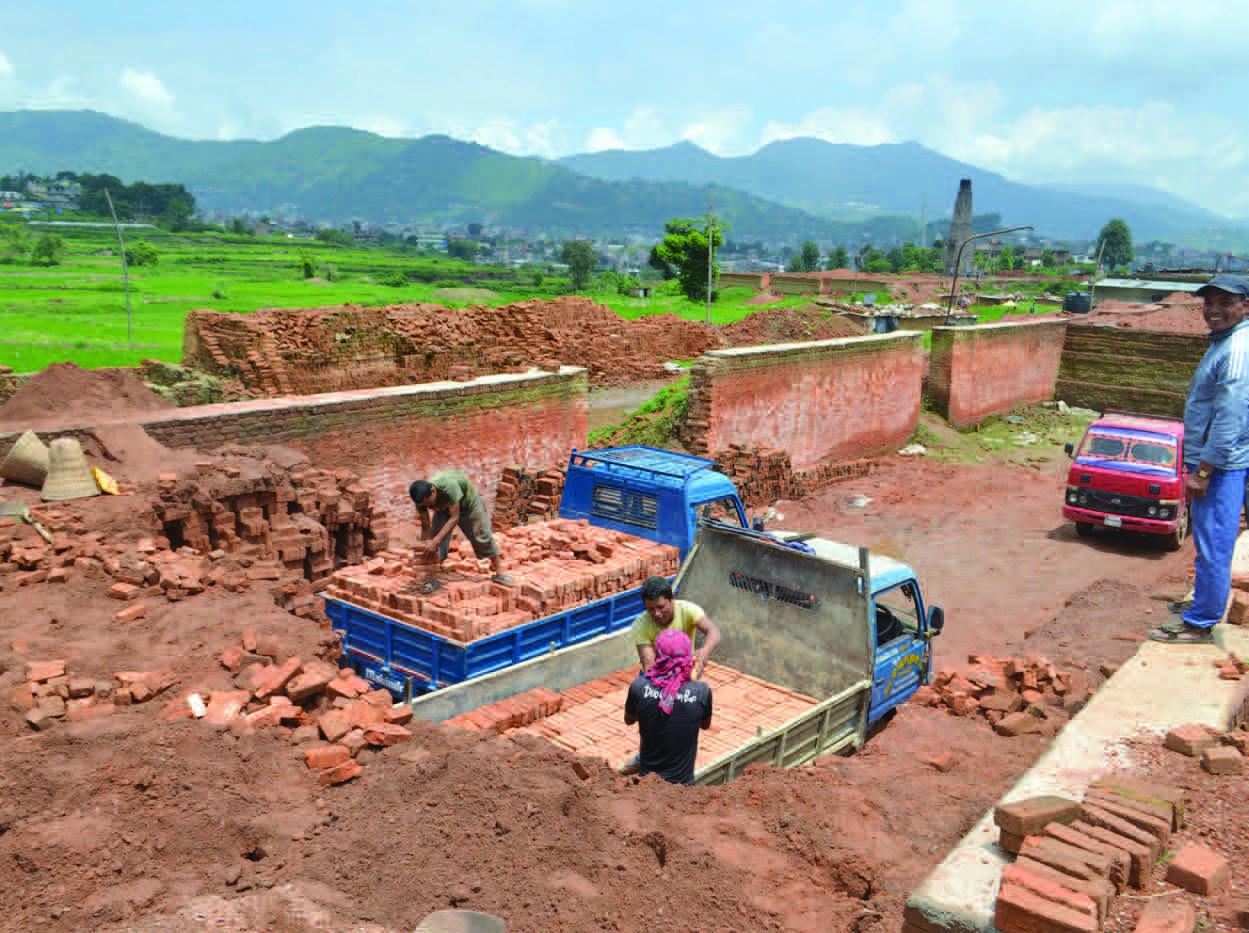 Rural Brick Factory, Bungamati, Nepal