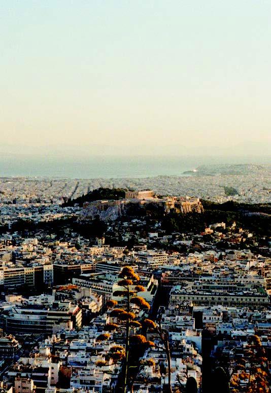 View toward Acropolis