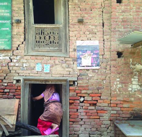 Damaged Home in Khokana, Kathmandu