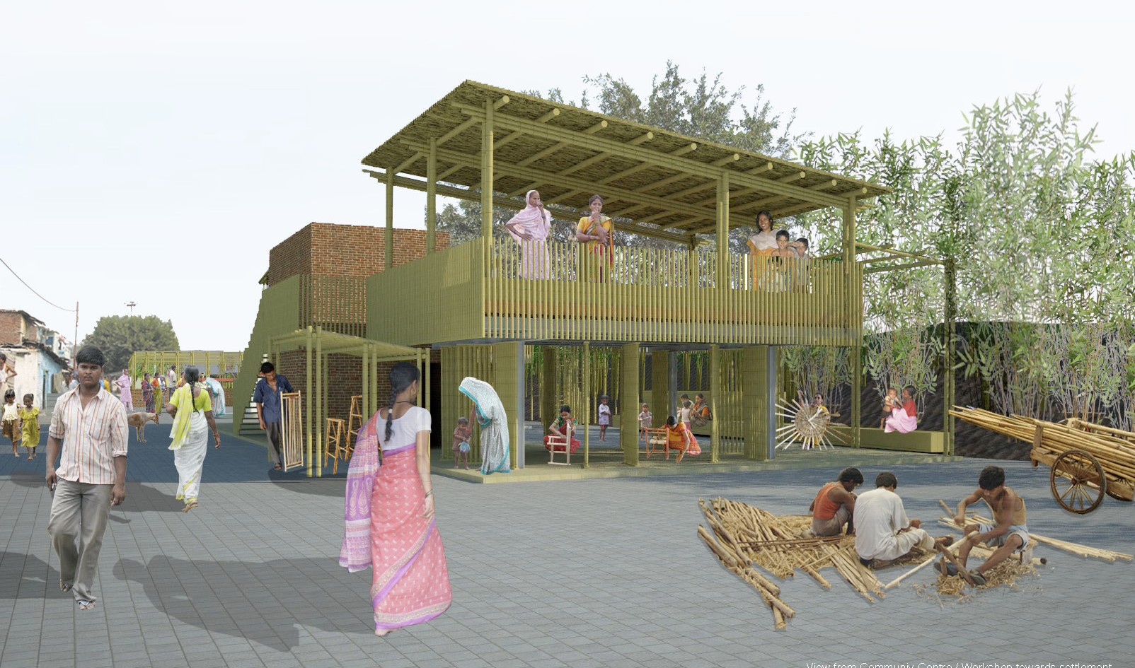 Bamboo Workshop & Community Space