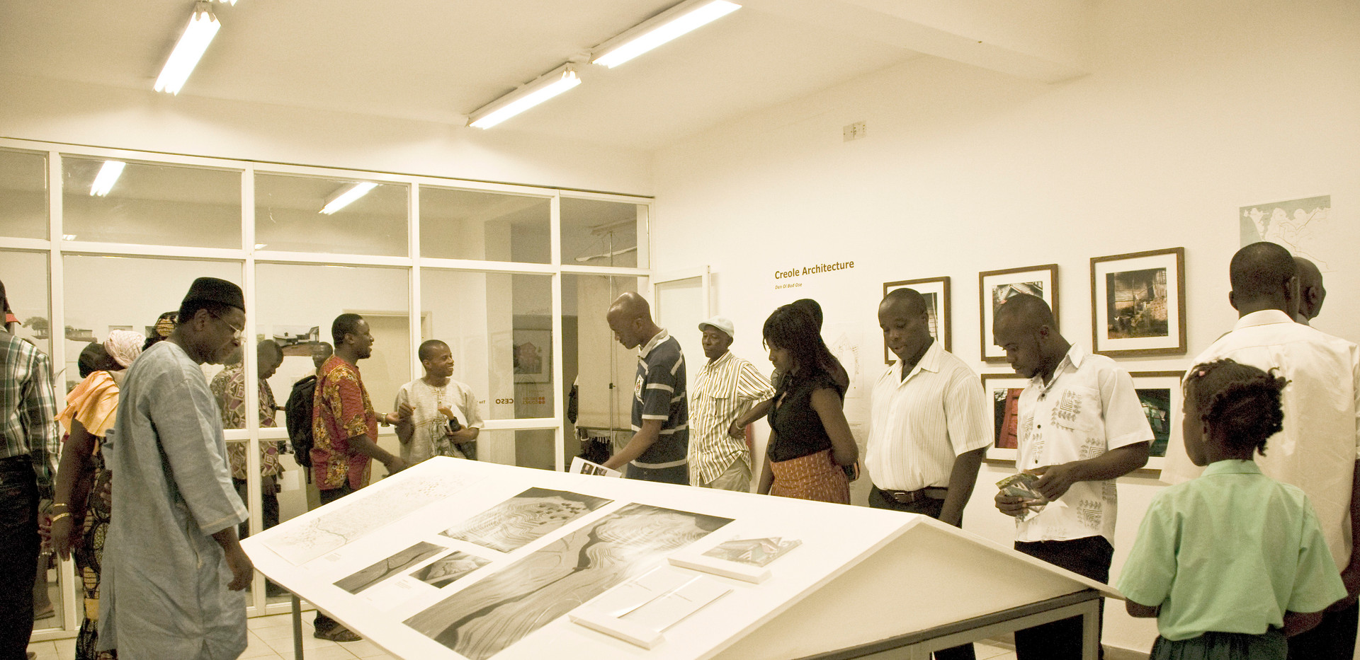 British Council Exhibition, Freetown