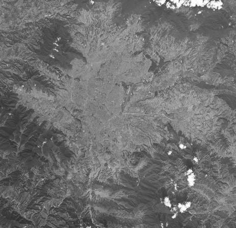 Kathmandu Valley c2015, Google Earth